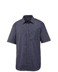 Merrell Sarawak Shirt Upf 30 Short Sleeve Cinder Chambray