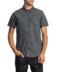 RVCA Thatll Do Chambray Woven Shirt