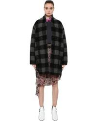 Etoile Isabel Marant Checked Wool Blend Coat