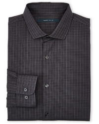 Charcoal Check Long Sleeve Shirt