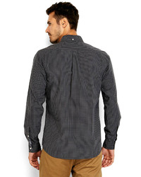 Dockers Grey Modern Classic Fit Button Down Shirt | Where to buy ...
