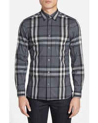 Nelson check sport shirt medium 3751230