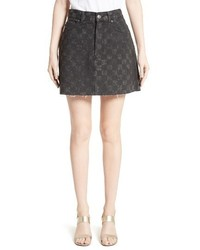 Marc Jacobs Checker Print Miniskirt