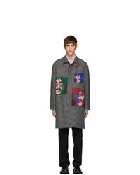 Stella McCartney Grey The Beatles Check Andrew Coat