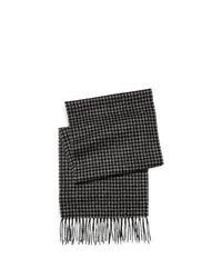 Charcoal Check Scarf