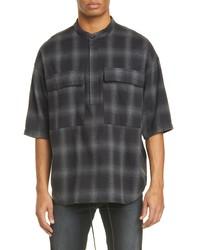 Fear Of God Oversize Plaid Shirt