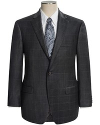 Ralph Lauren Modelcurrentbrandname Lauren By Windowpane Suit Wool