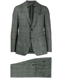 Tagliatore Plaid Two Piece Suit