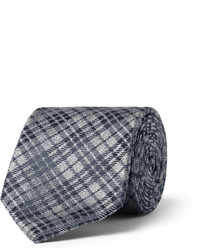 Charcoal Check Tie
