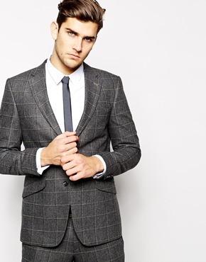 684fec0a Peter Werth Italian Wool Large Check Suit Jacket In Slim Fit, $347 ...