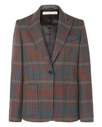 Golden Goose Deluxe Brand Monica Checked Wool Blazer