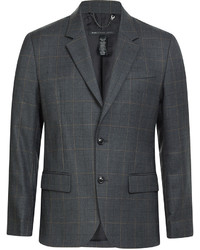 Marc by Marc Jacobs Wool Blend Check Blazer