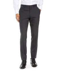 Ted Baker London Reese Check Wool Trousers
