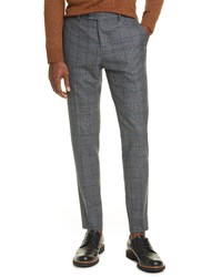 Eidos Windowpane Wool Dress Pants