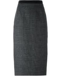 No.21 No21 Glen Check Pencil Skirt
