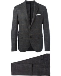 Neil Barrett Prince Of Wales Check Suit
