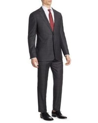 Armani Collezioni Windowpane G Line Suit