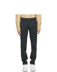 Doppiaa Black Antioco Trousers