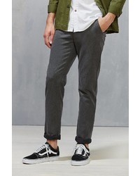 Urban Outfitters Cpo Double Faced Melange Skinny Chino Pant