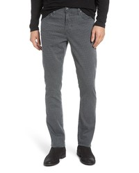 AG Everett Slim Fit Straight Leg Print Pants