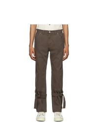 BILLY Grey Bondage Trousers