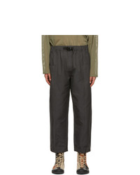South2 West8 Grey Centre Seam Trousers