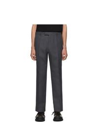 Prada Grey Classic Fit Trousers