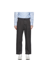 Comme des Garcons Homme Grey Gart Dyed Chino Trousers