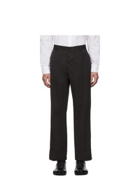 Maison Margiela Grey Gart Dyed Loose Trousers