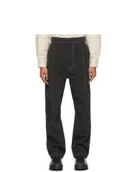 Jacquemus Grey Le Pantalon Felix Trousers