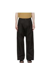 Jan Jan Van Essche Grey Ramie Oversized Trousers