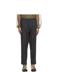 South2 West8 Grey String Trousers