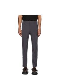 Prada Grey Techno Stretch Trousers
