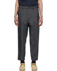 AïE Grey Twill Bng Trousers