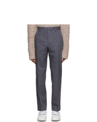 Acne Studios Grey Twill Slim Fit Chino Trousers