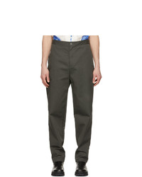 Undercover Grey Twill Trousers