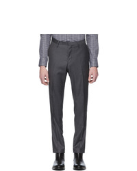 Tiger of Sweden Grey Wool Todd Trousers