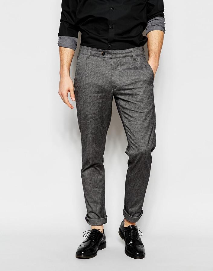 0f3f43253c89a0 ... Ted Baker Micro Herringbone Formal Pants In Slim Fit ...