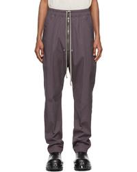 Rick Owens Purple Bela Trousers