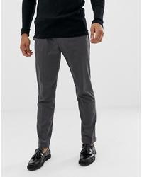 Pier One Slim Fit Trouser In Grey