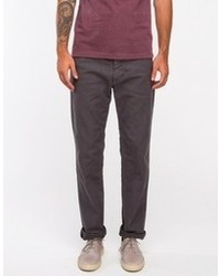 Smart Chino In Charcoal