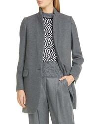 Stella McCartney Bryce Wool Blend Melange Jacket