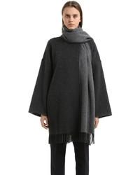 Salvatore Ferragamo Cashmere Poncho Style Coat