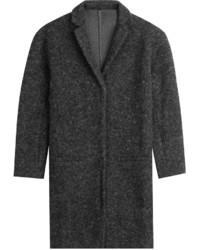Majestic Cropped Sleeve Cardigan Coat