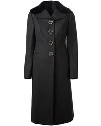 Dolce & Gabbana Single Breasted Long Coat