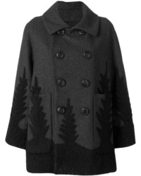 Double breasted coat medium 4985335