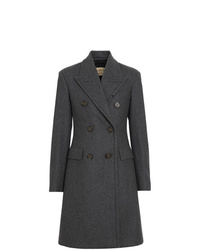 Burberry Double Breasted Wool Tailored Coat