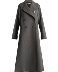 Stella McCartney Edvina Side Slit Wool Blend Coat