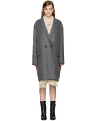 Isabel Marant Grey Filipa Coat