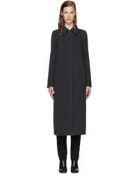 MM6 MAISON MARGIELA Grey Wool Long Coat